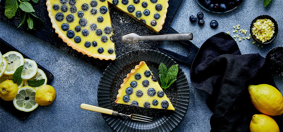 Recipe: Lemon Blueberry Tarte