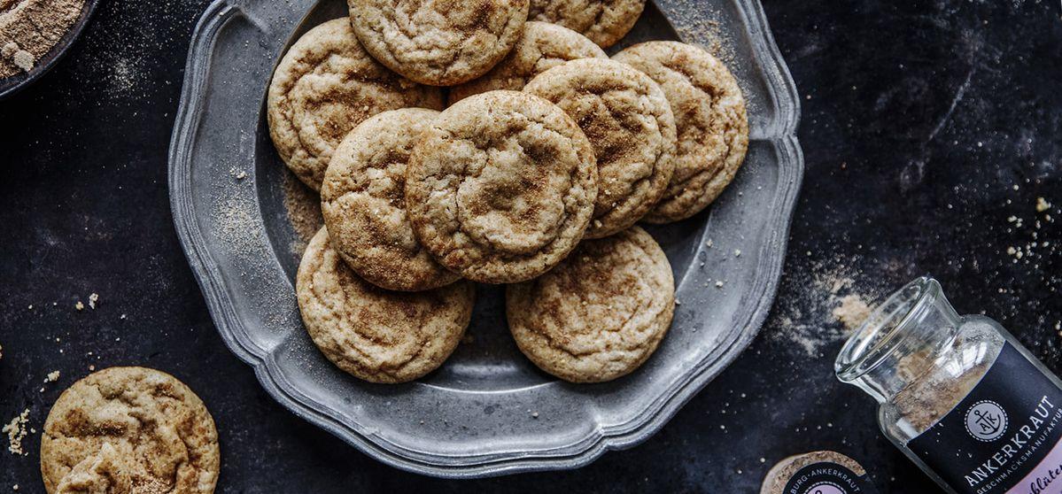 Christmas-Cookies mit Kokosblütenzucker