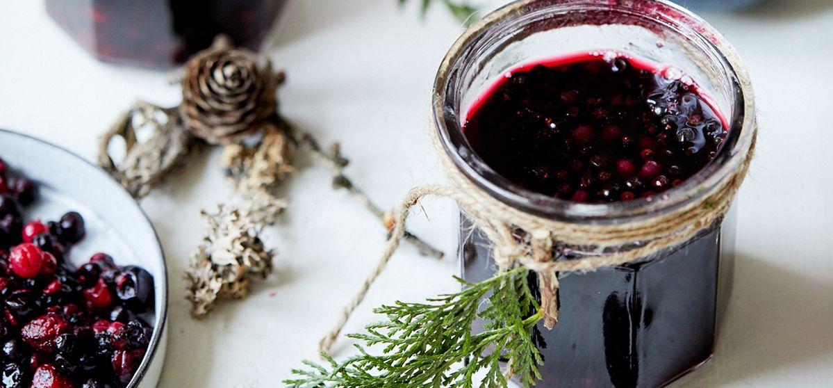 Vin brulé rosso intenso