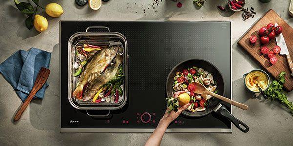 Tips om te wokken en vlees te braden op inductie