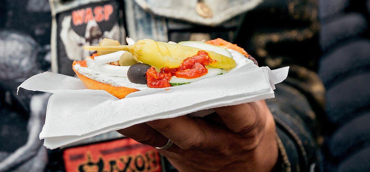 Metalheads und veganes Essen: deftiger Sound zum Gemüse
