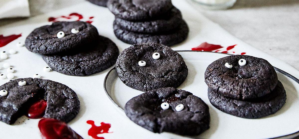 Halloween Blood Cookies