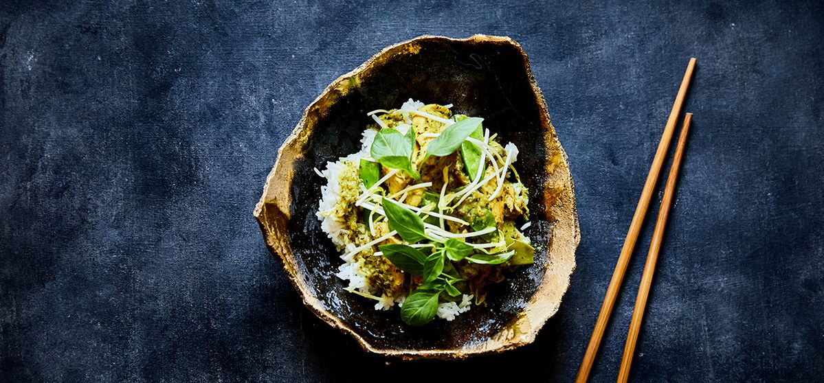 Thaise groene curry met kip | NEFF