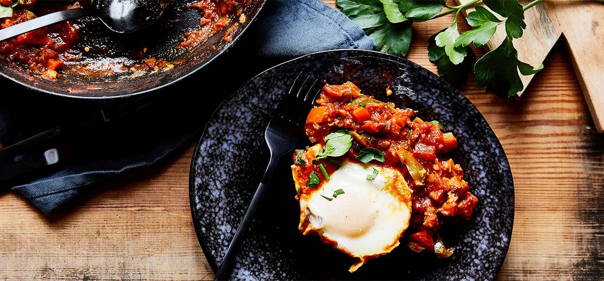 Peppery Shakshuka