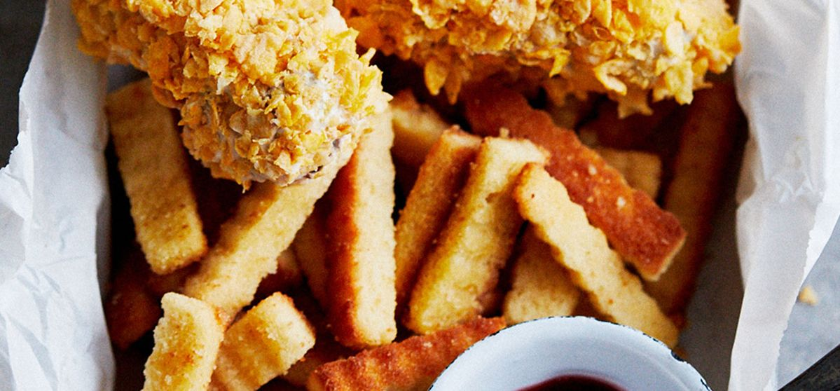 April Fool's – Fish Fingers and Chips