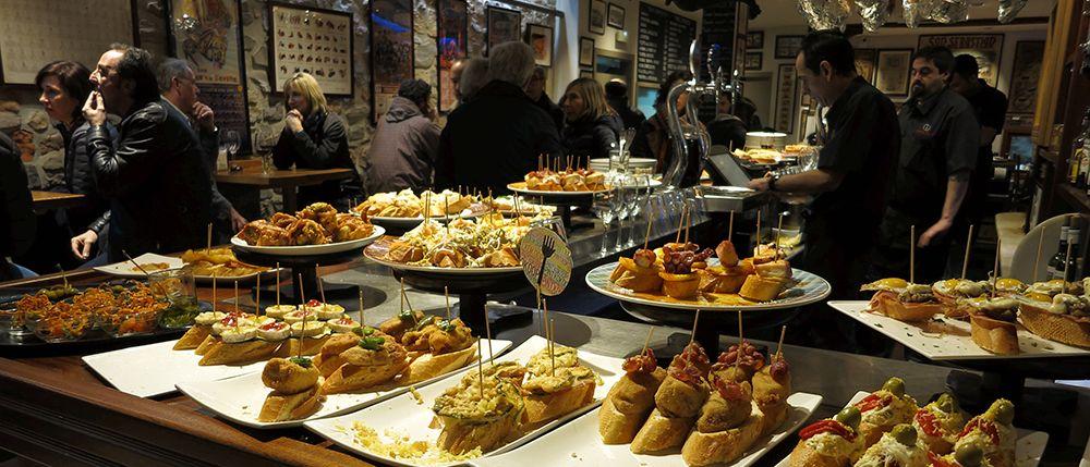 Een culinaire kroegentocht: de lekkerste pinxos van San Sebastian
