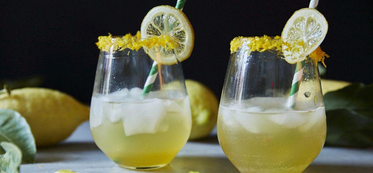 Zitronen-Cocktail
