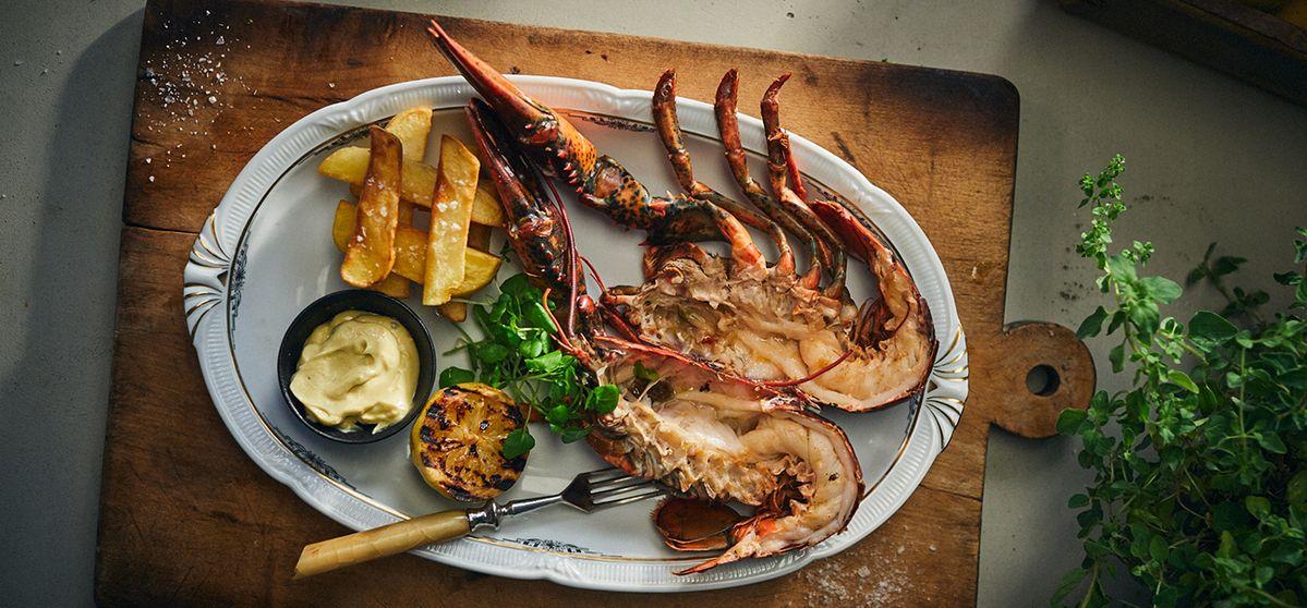 Recipe: John's Lobster, Chips & Salad Cream | NEFF UK