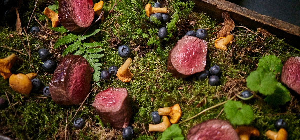 Meat on Moss