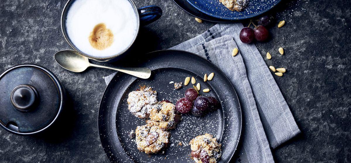 Trauben-Streusel-Cookies