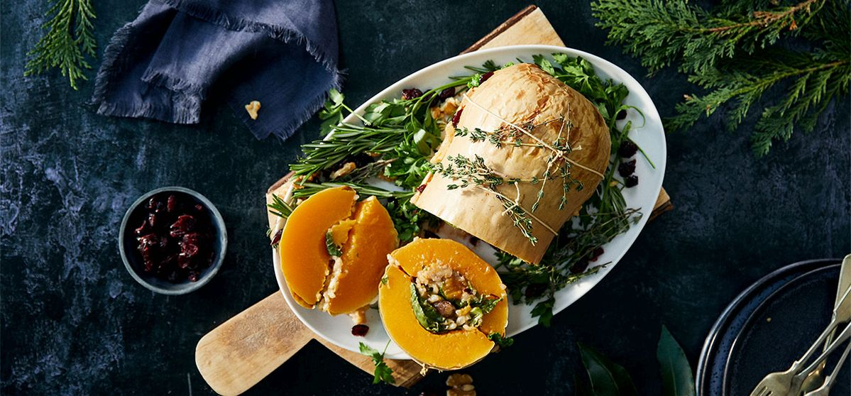 Recipe: Christmas Stuffed Butternut Squash | NEFF