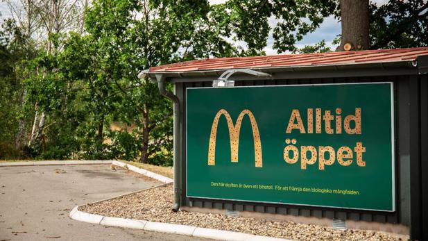 Diese McDonald's-Billboards sind gleichzeitig ein Zuhause für Bienen